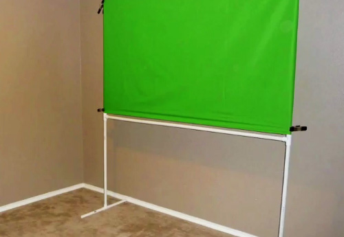 green screen frame